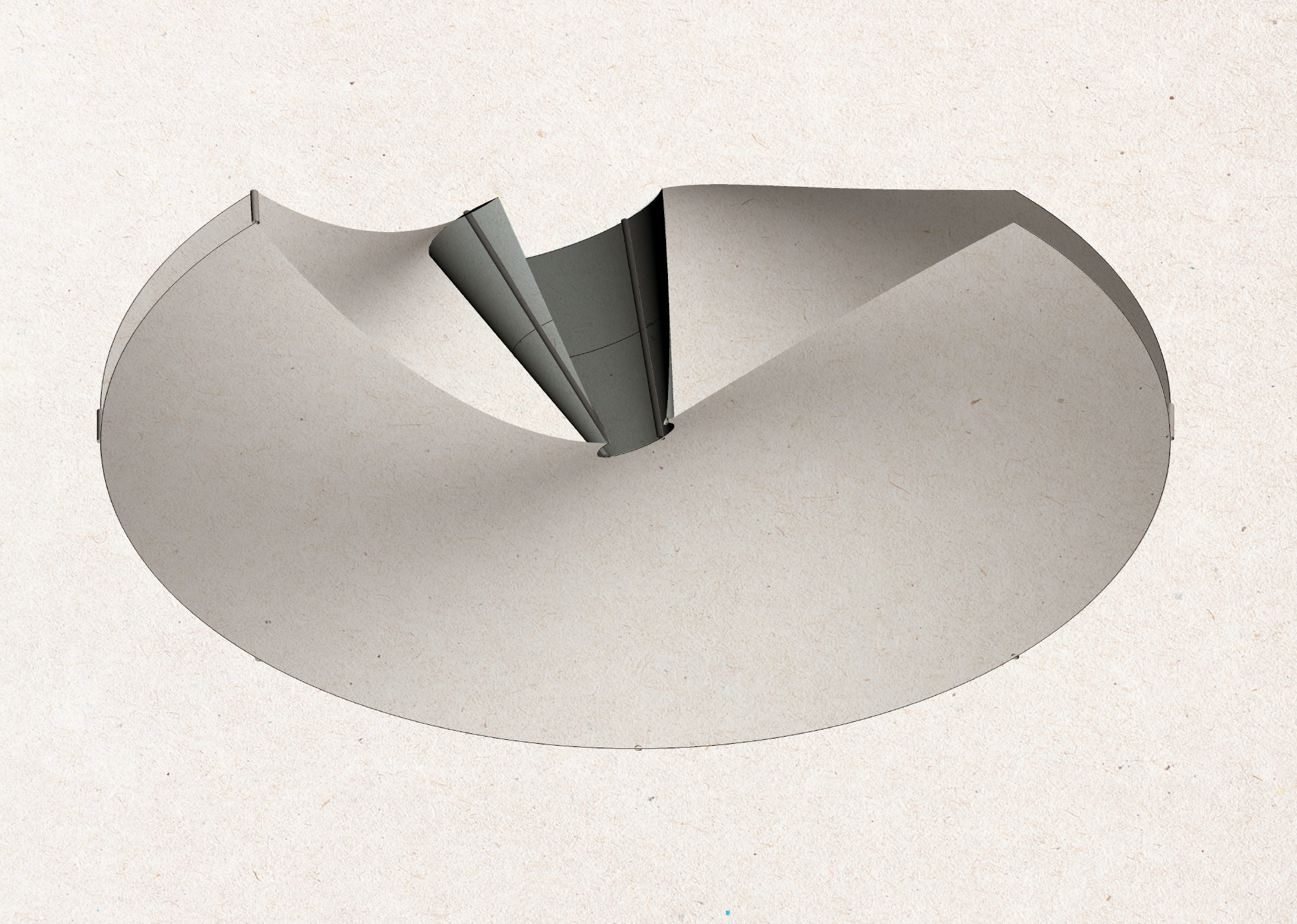 Curvature from Rotation – Studio 9: Architectural Notations